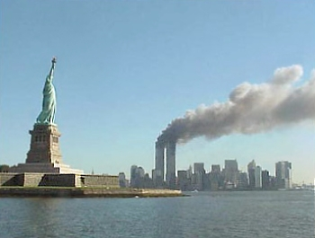 World Trade Center attack on 9/11