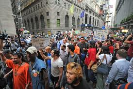 Wall Street Protest: Occupy Wall Street—Copyright © 2011 by Louis Lanzano
