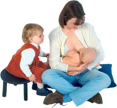 Aware Parenting recommends closeness day and night, baby carrying, co-sleeping, breast-feeding when baby is hungry