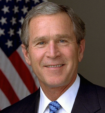 George Dubya Bush—'I'm declaring victory!'