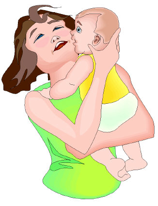 Attachment parenting involves lots of closeness between caregiver and baby