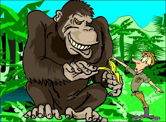 How do you take wealth from a rich, powerful oligarch? The same way you take a banana from a 900-pound gorilla—very carefully!